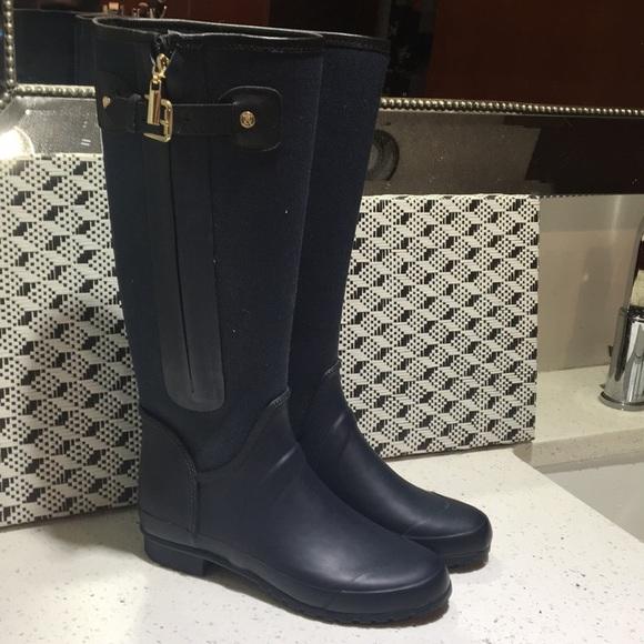591c73e7f97 Massimo Dutti Women High Rainy Boots